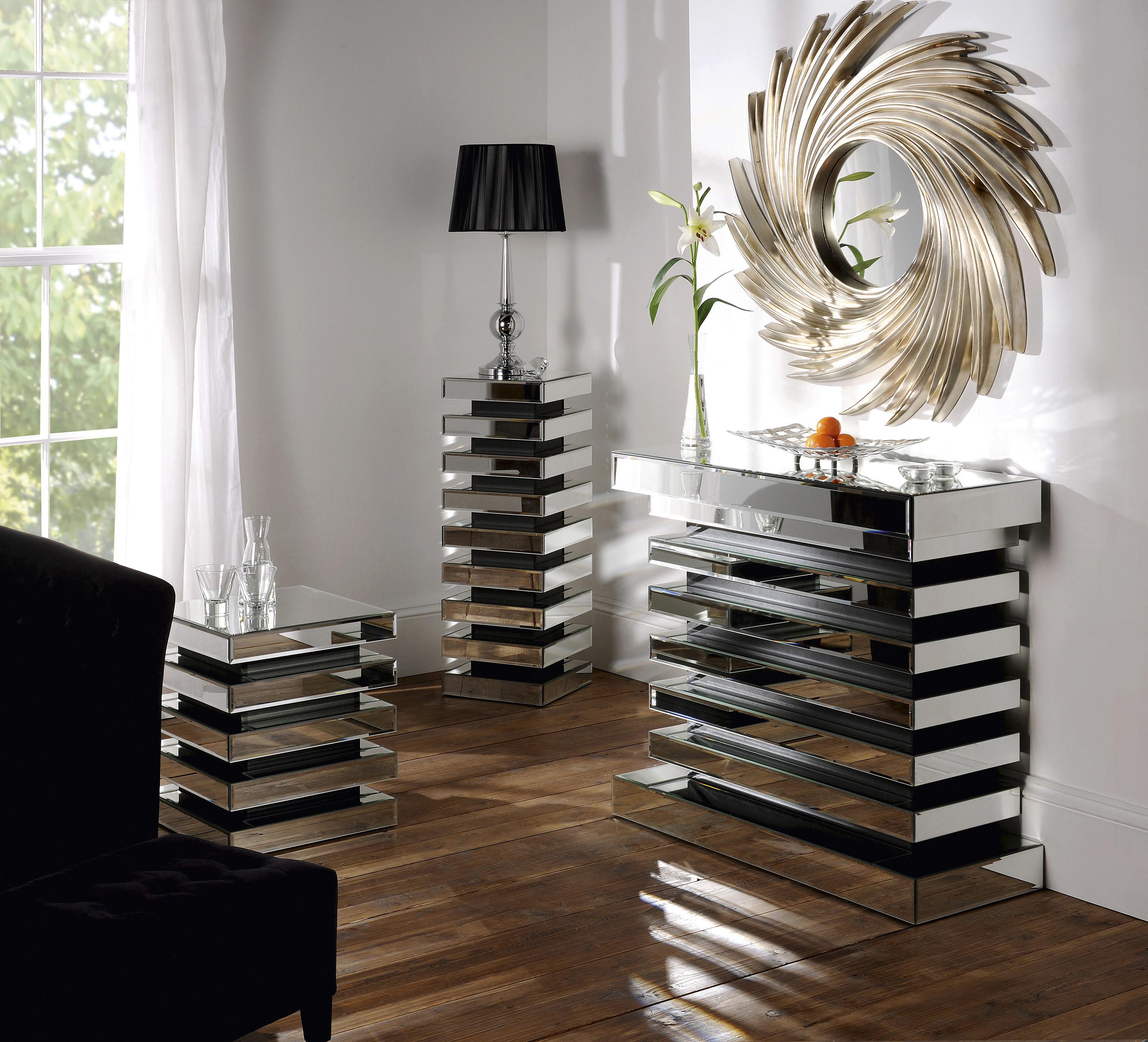Mirrored Living Room Furniture Uk - Living Room Ideas