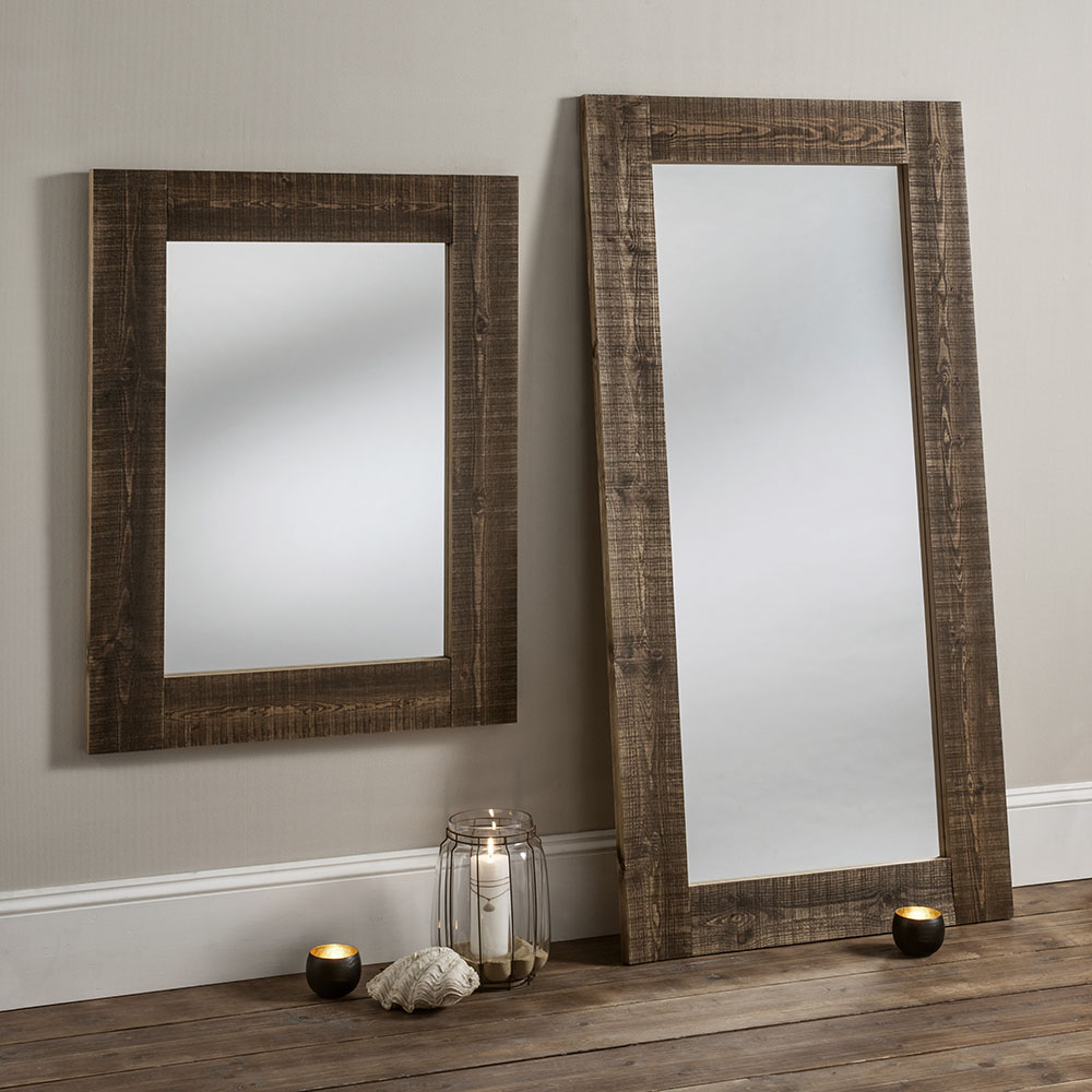 rustic british made mirrors
