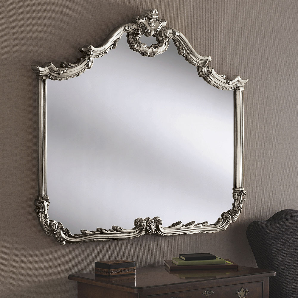 Yg209 British Made Mirrors Ornate Yearn Glass