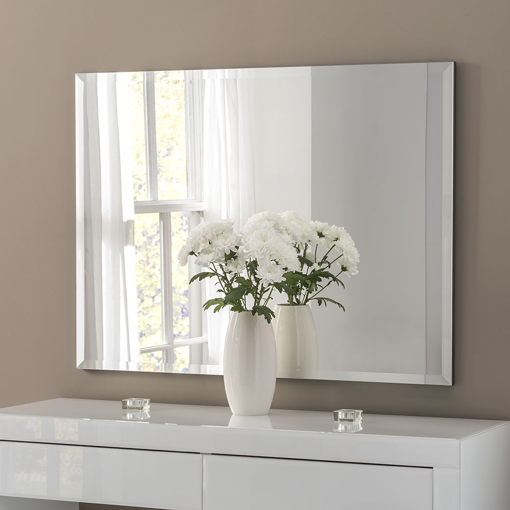 Classic rectangle british made mirrors latest designs for 10 x 40 window